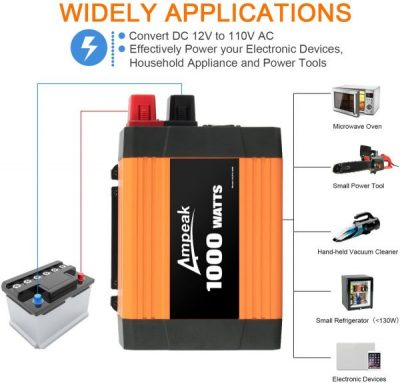 Ampeak 2000W Power Inverter review
