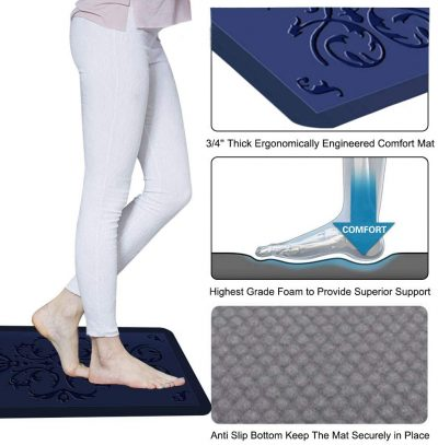 butterfly anti fatigue mat