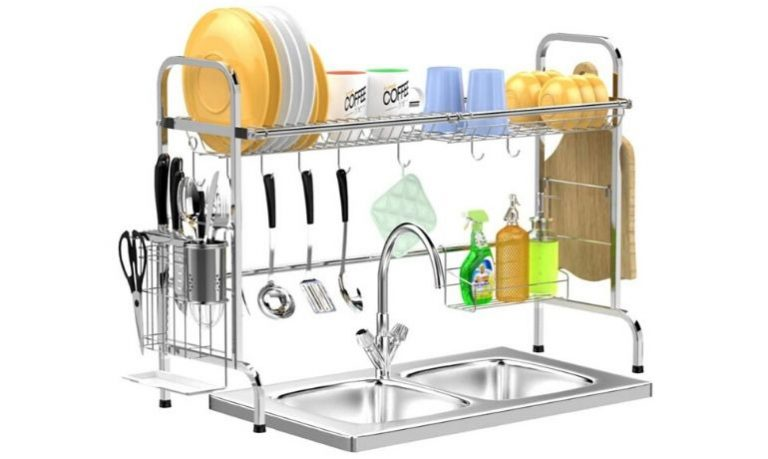 Best Over The Sink Dish Rack-A Useful kitchen Rack
