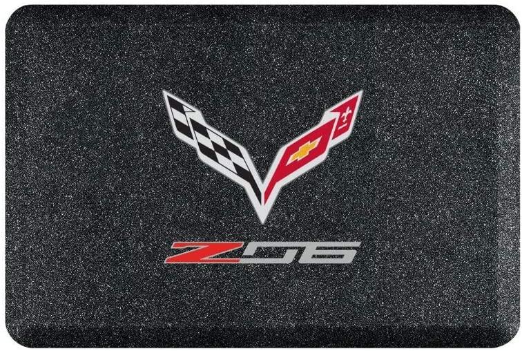 corvette garage floor mat