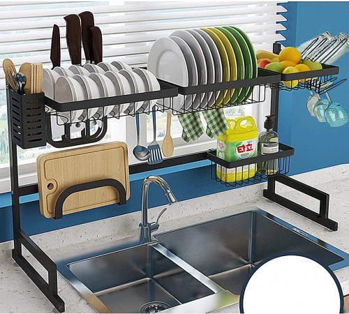 AKOZLIN Over Sink Dish Rack