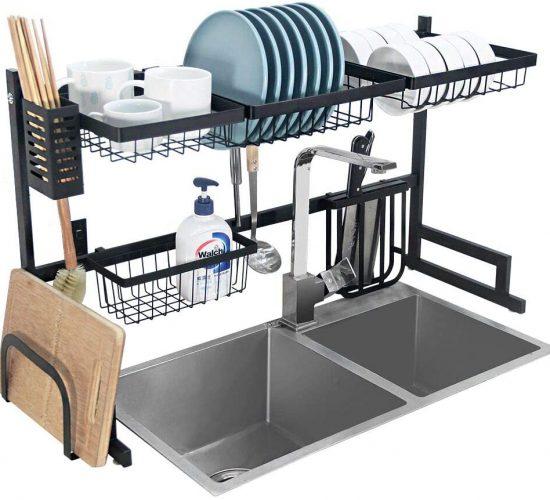 crystallove dish drying rack