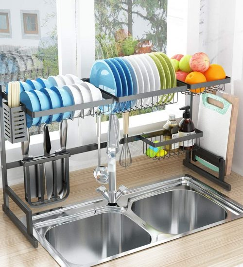 pusdon sink dish rack